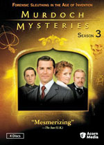 The Murdoch Mysteries: Season Three, a Mystery TV Series