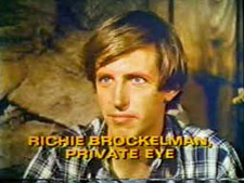 Richie Brokelman, Private Detective